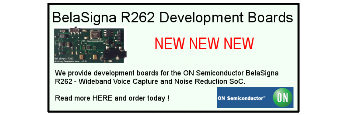 BelaSigna R262 Dev Boards